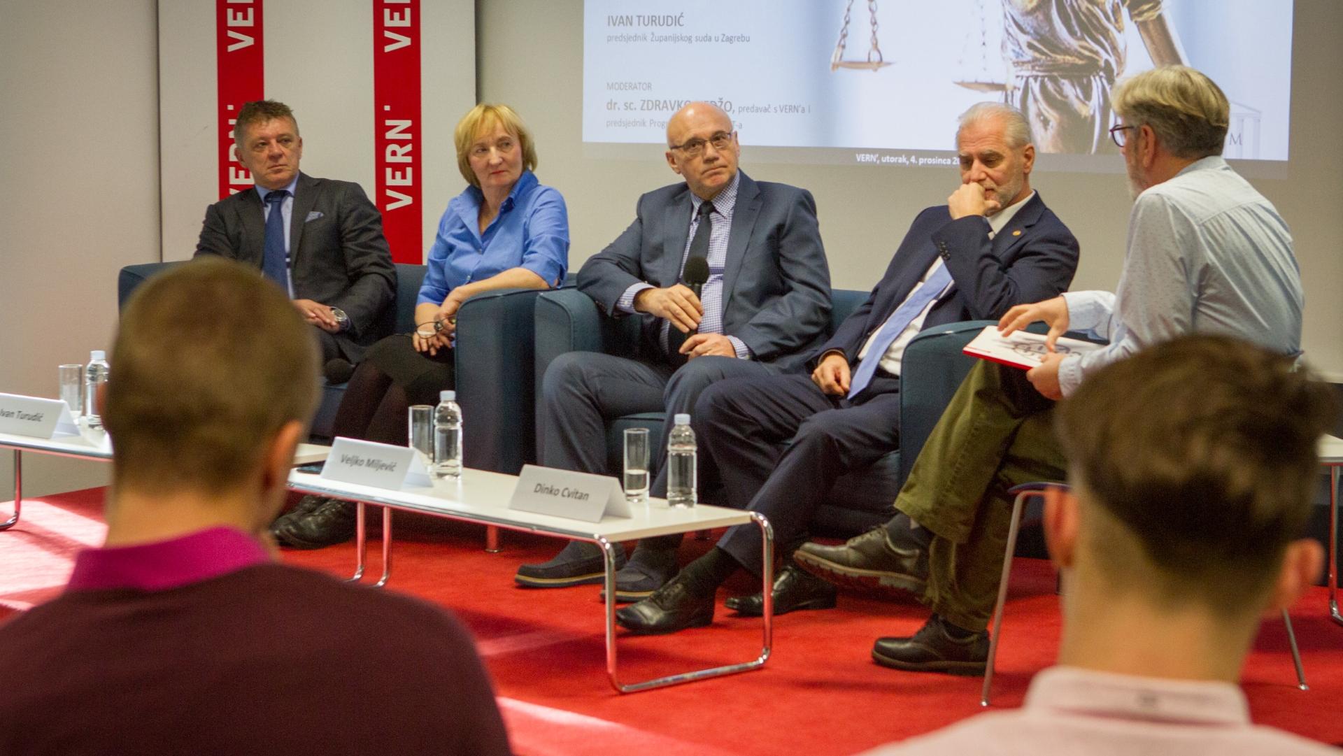VERN' Forum održao panel pod nazivom 'Neka institucije rade svoj posao…'