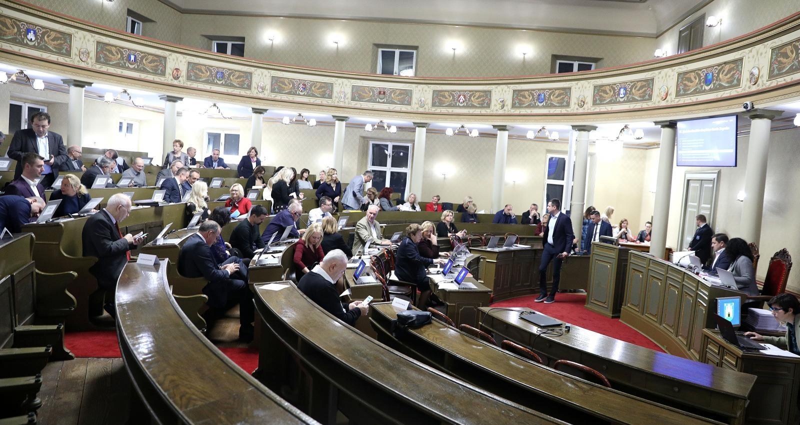 Zagrebačka Gradska skupština odlučuje hoće li prihvatiti proračun za 2019.