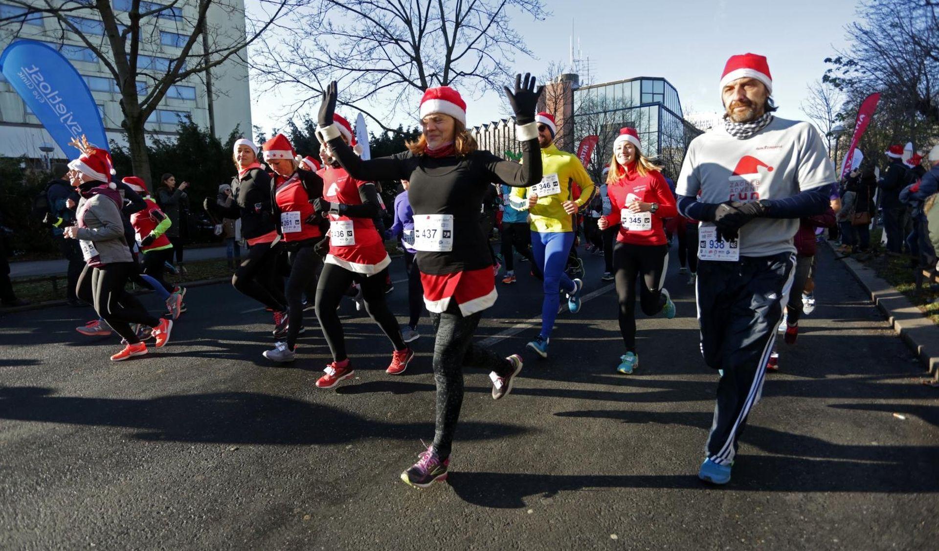 ZAGREB ADVENT RUN Kostimirani trkači protiv dijabetesa