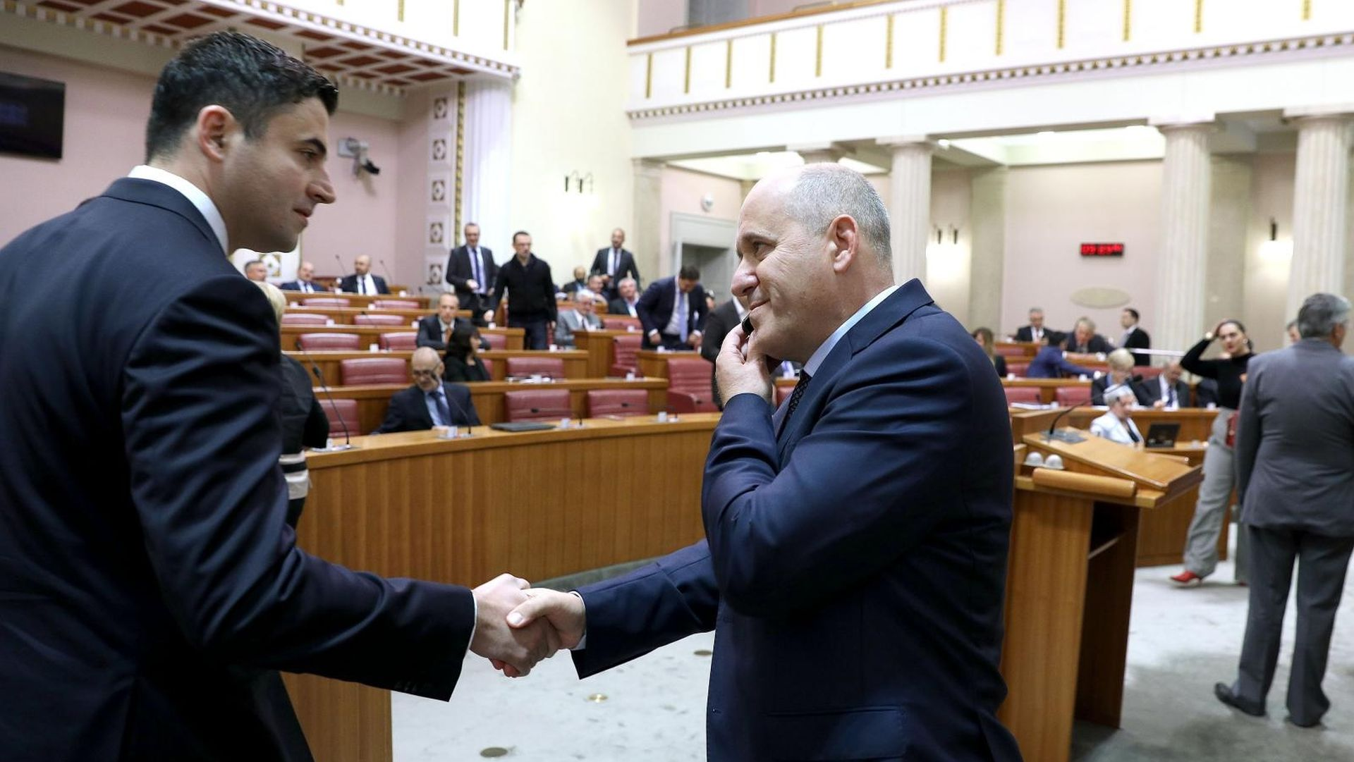 Bernardić i Bačić međusobno se optuživali za stranačku netransparentnost