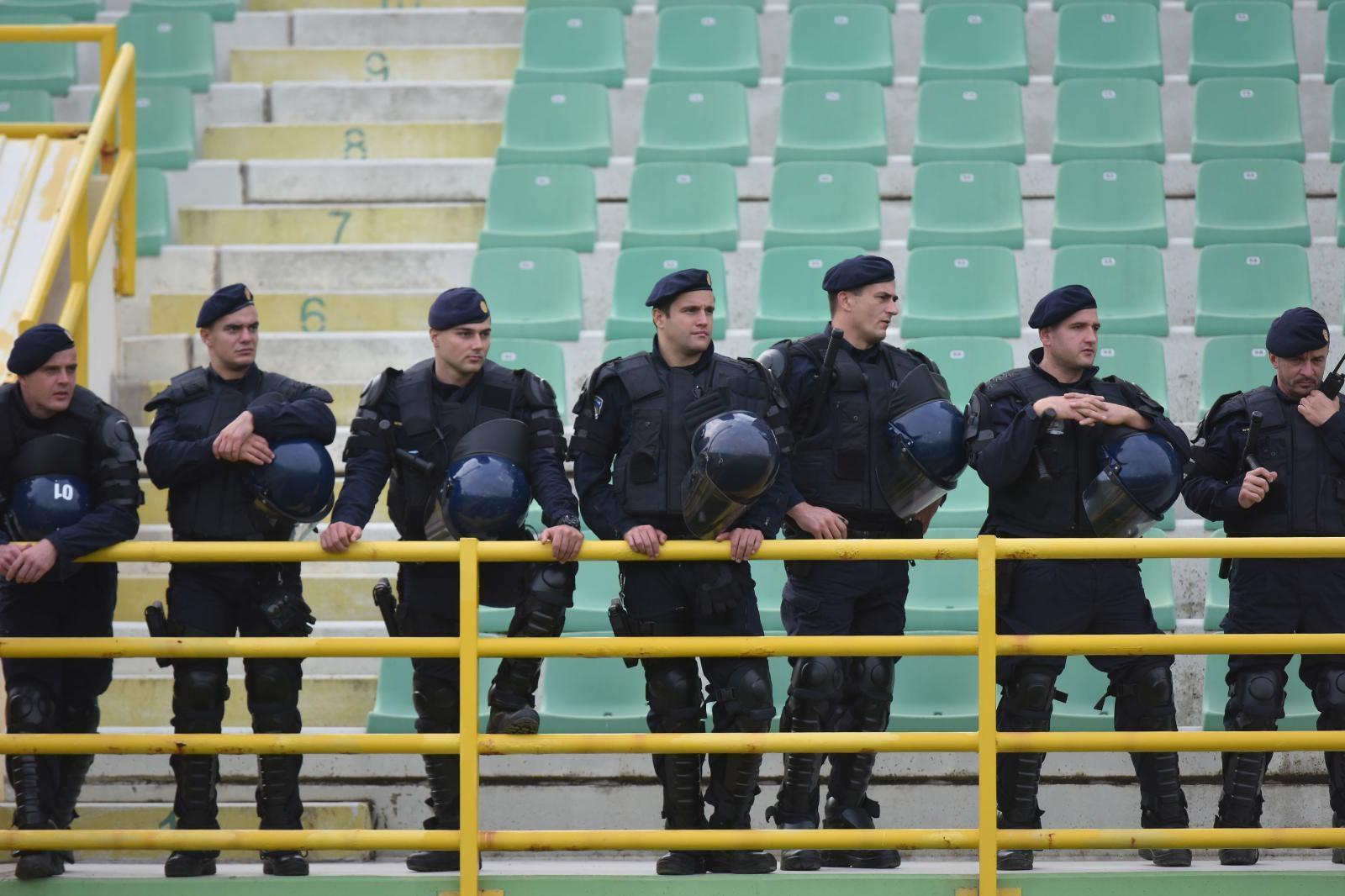 Prije utakmice Dinamo- Hajduk privedeno 20 osoba