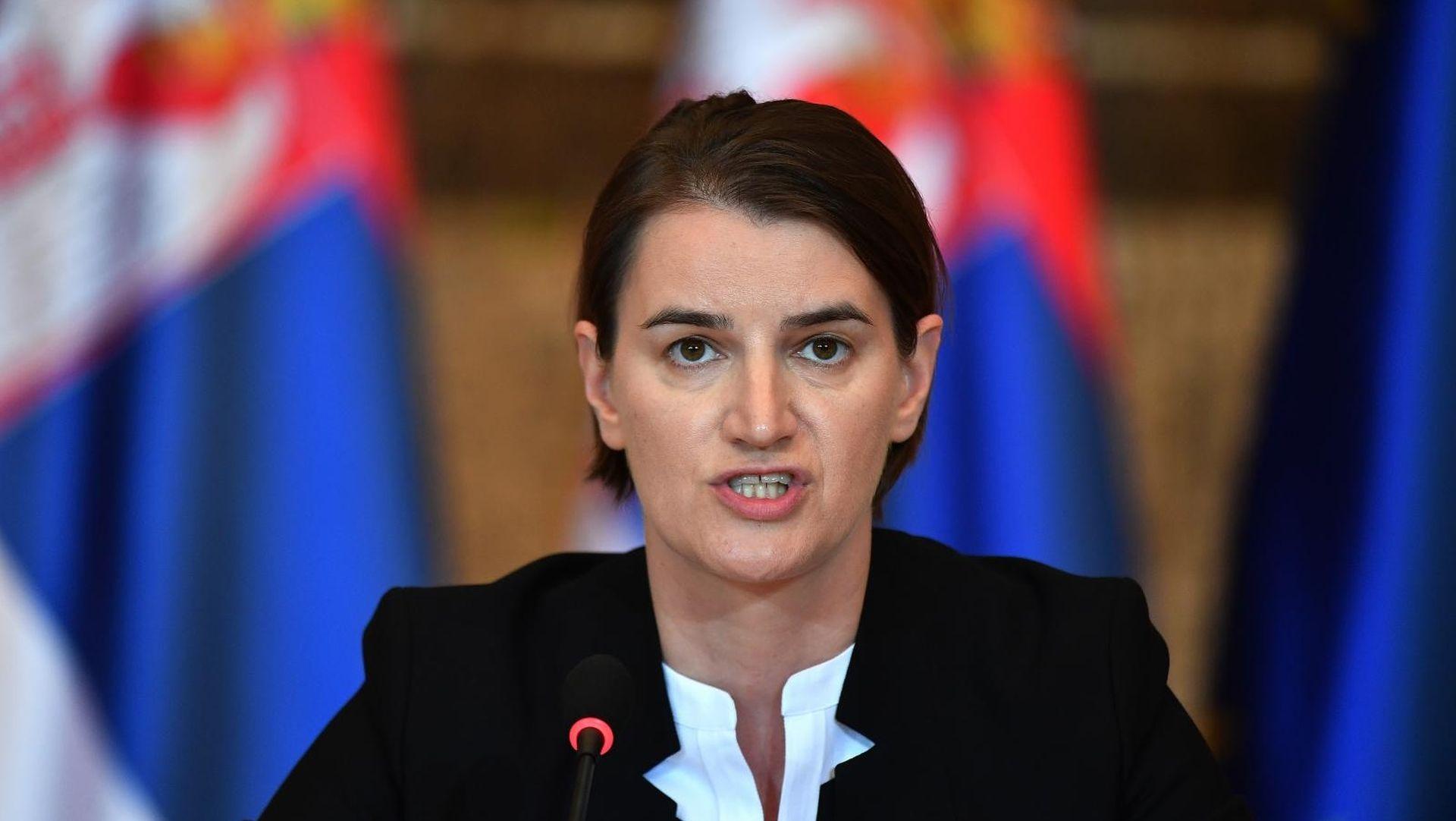 """Brnabić optužila Ramu za """"politički spin"""""""