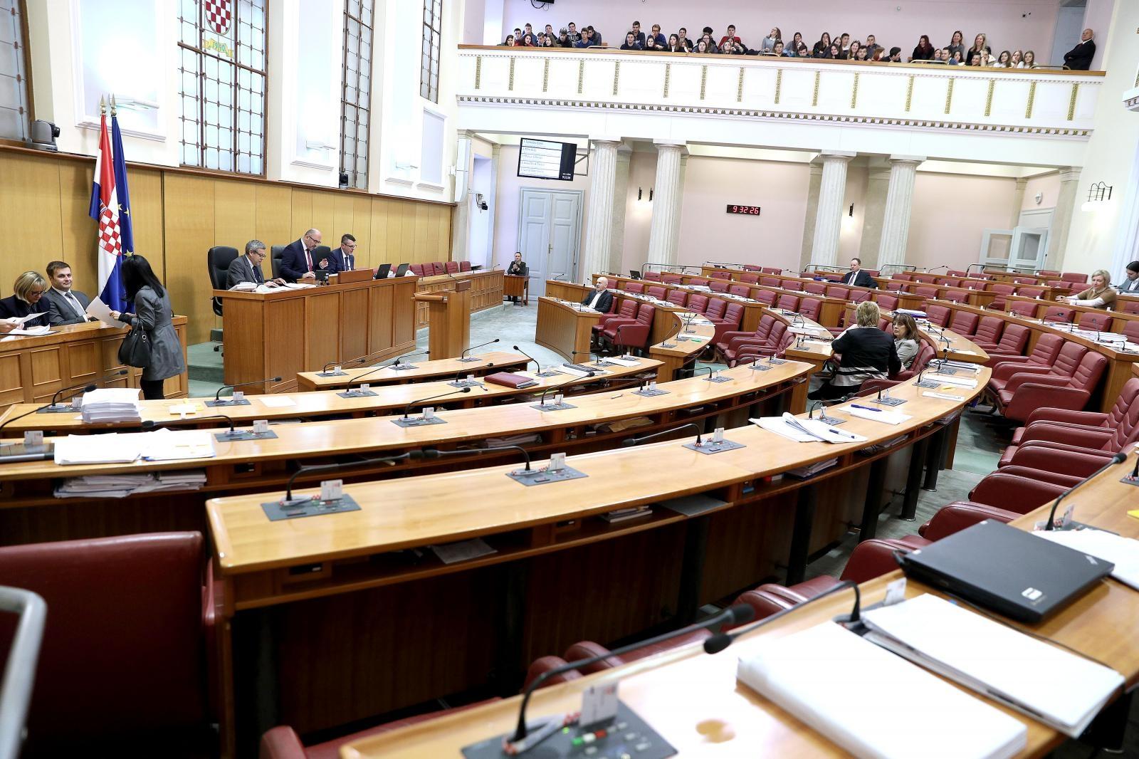 Sabor u utorak raspravlja o smanjenju broja agencija i zavoda