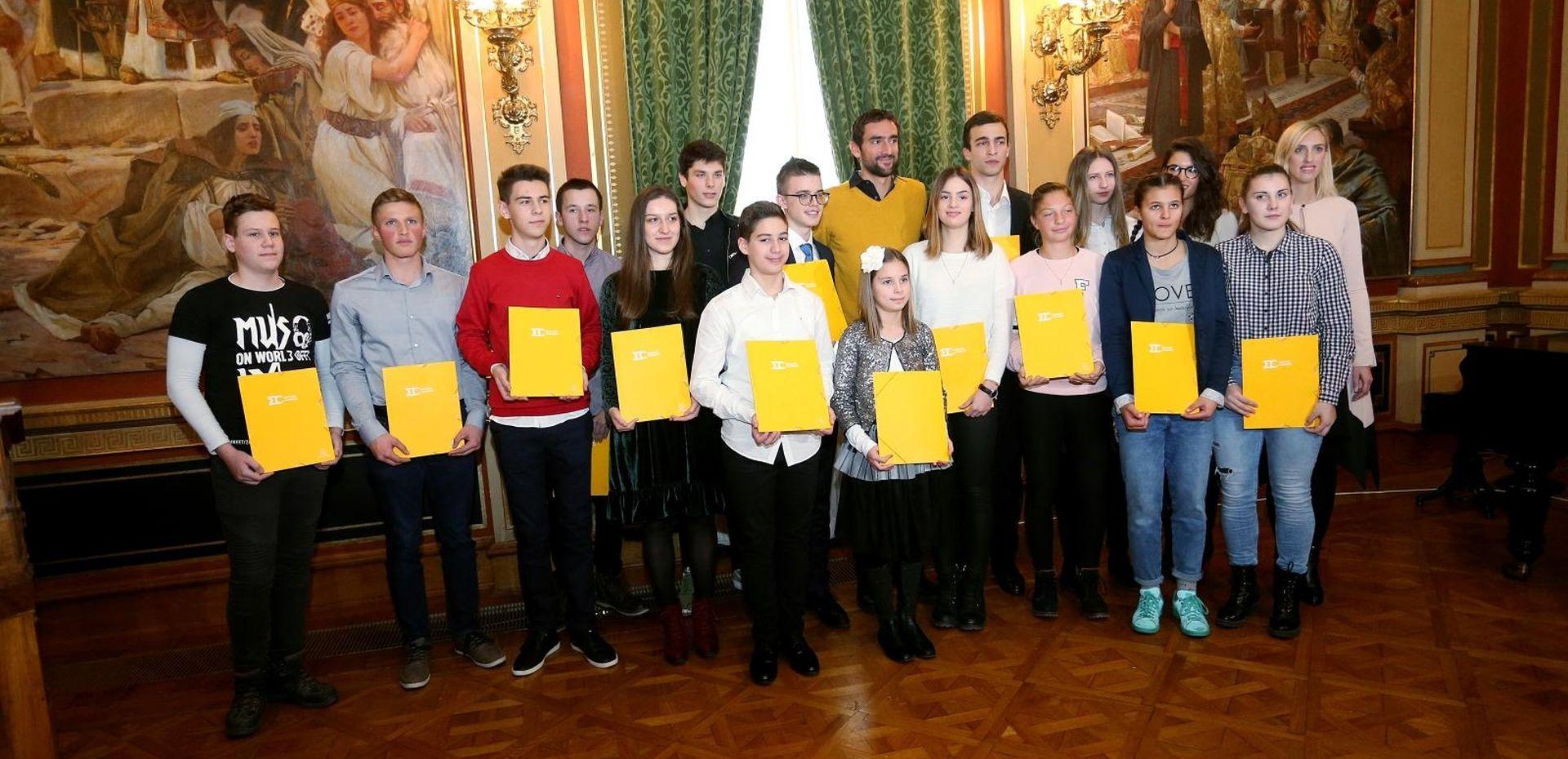 Marin Čilić dodijelio stipendije svoje Zaklade