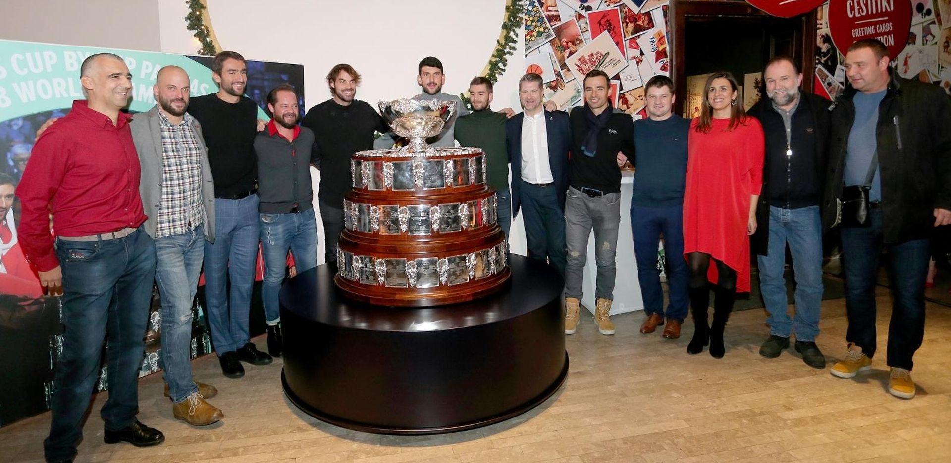 Davis Cup otkriven na svečanosti u Muzeju za umjetnost i obrt