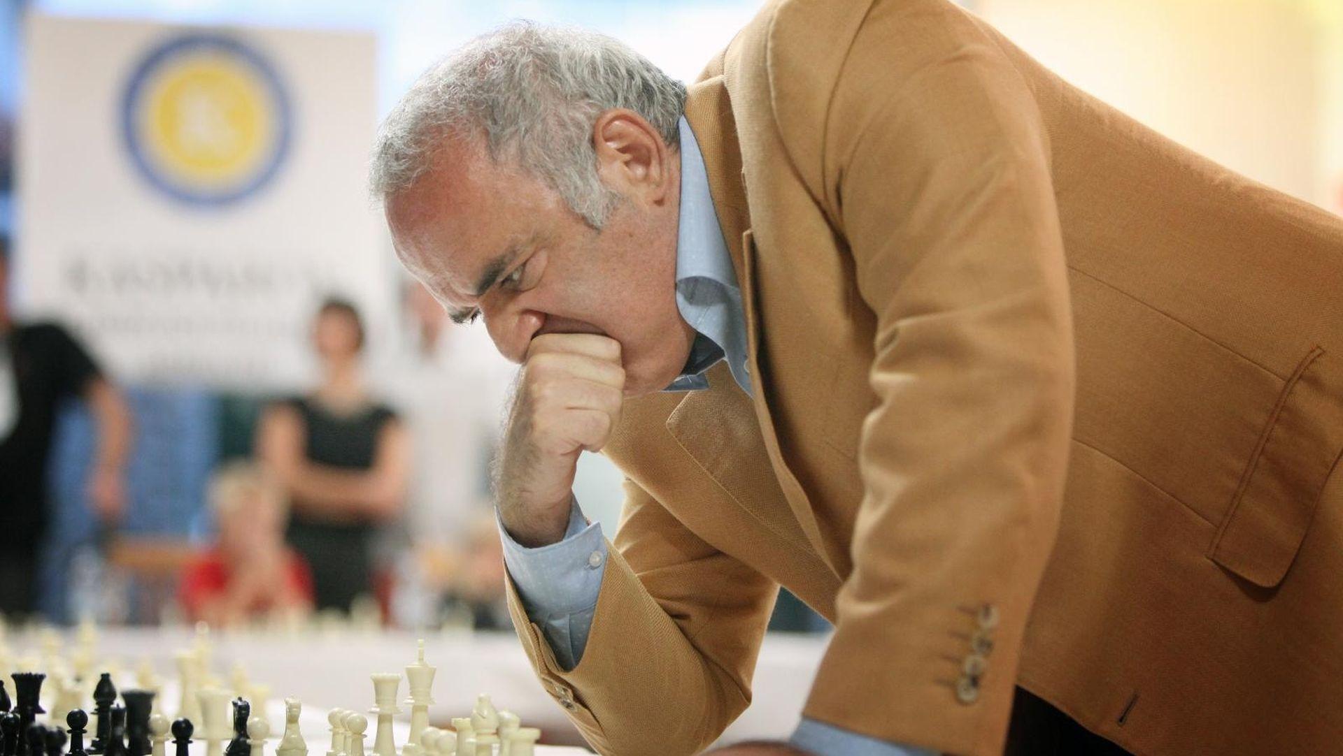 Kasparov opet u Zagrebu