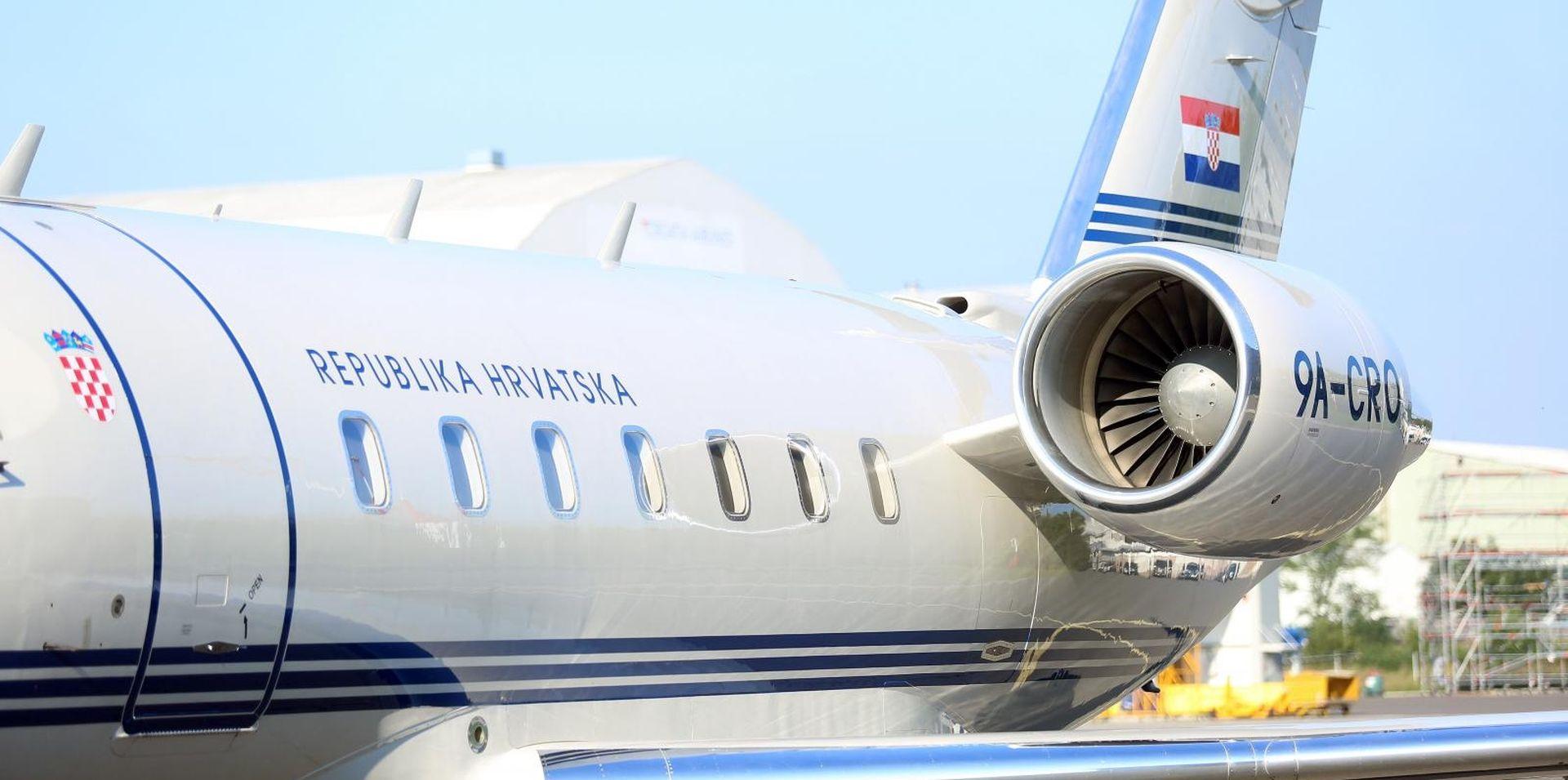 Vladinim zrakoplovom hitno prevezli novorođenče iz Dubrovnika u Zagreb