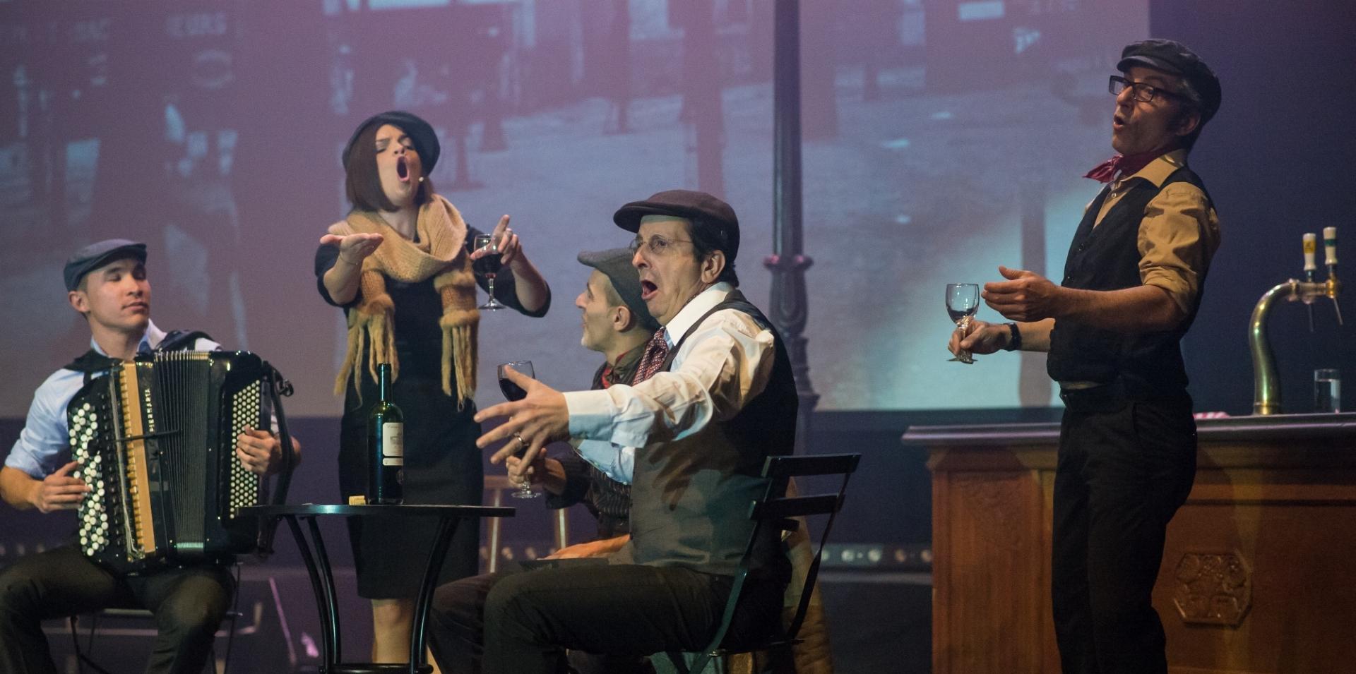 KD LISINSKI Veliki glazbeno-scenski spektakl u čast Edith Piaf