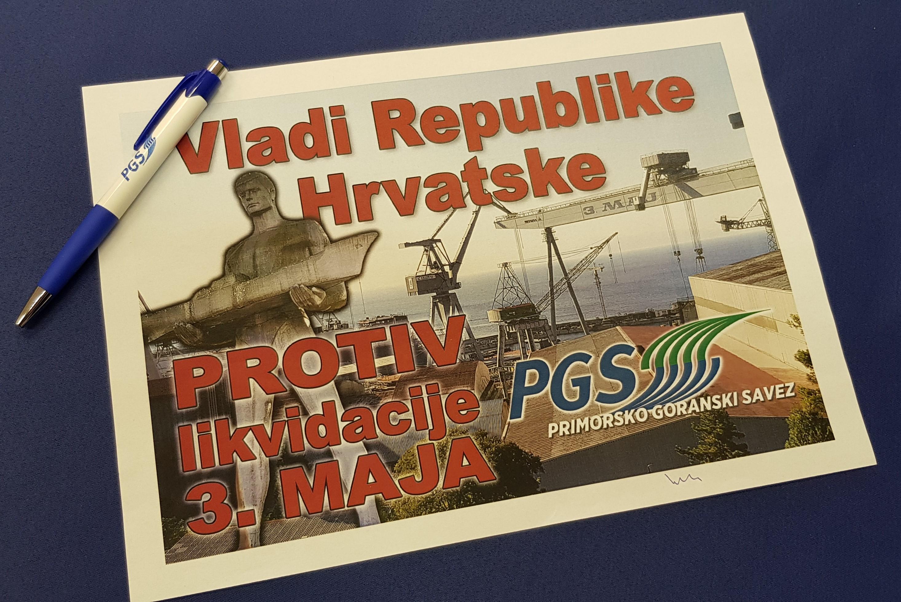 """PGS VLADI """"Zgroženi smo, nadamo se da nećete biti grobari 3.maja"""""""