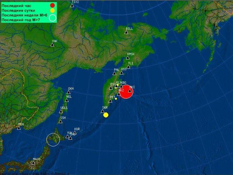 Snažan potes pogodio Kamčatku, izdano upozorenje zbog tsunamija