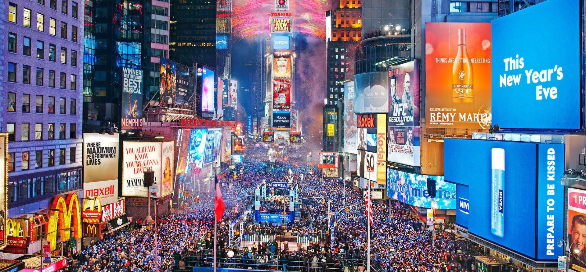 VIDEO: Policija će pratiti situaciju na Times Squareu pomoću dronova