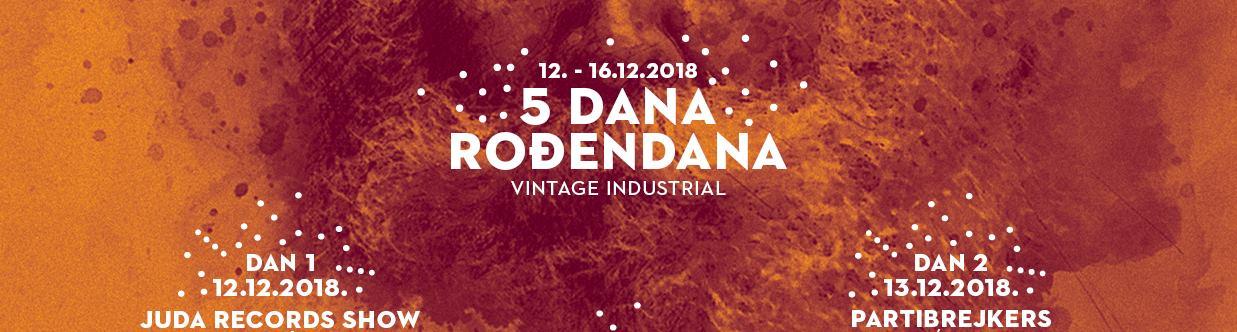 Vintage Industrial slavi šesti rođendan