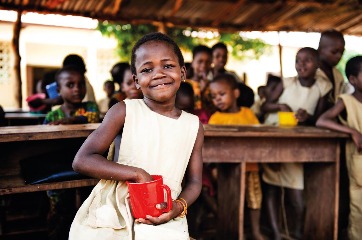 Potpomognut Svjetski program za hranu i Udruženje Djeca prva