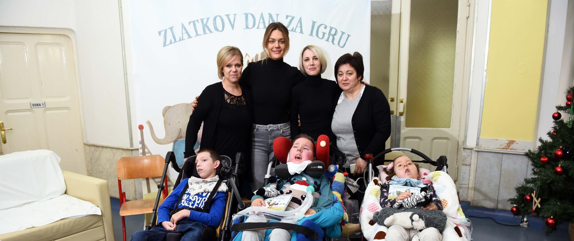 Sandra Perković se radosno odazvalapozivu Udruge Kolibrići
