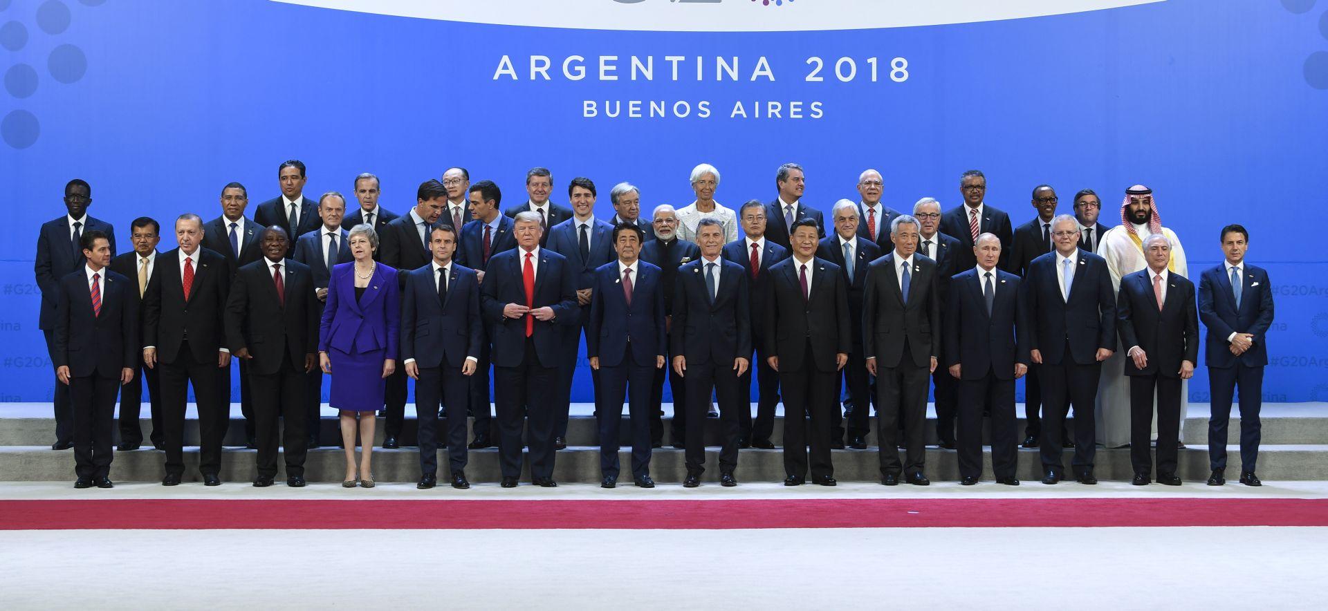 Osuda protekcionizma na G20