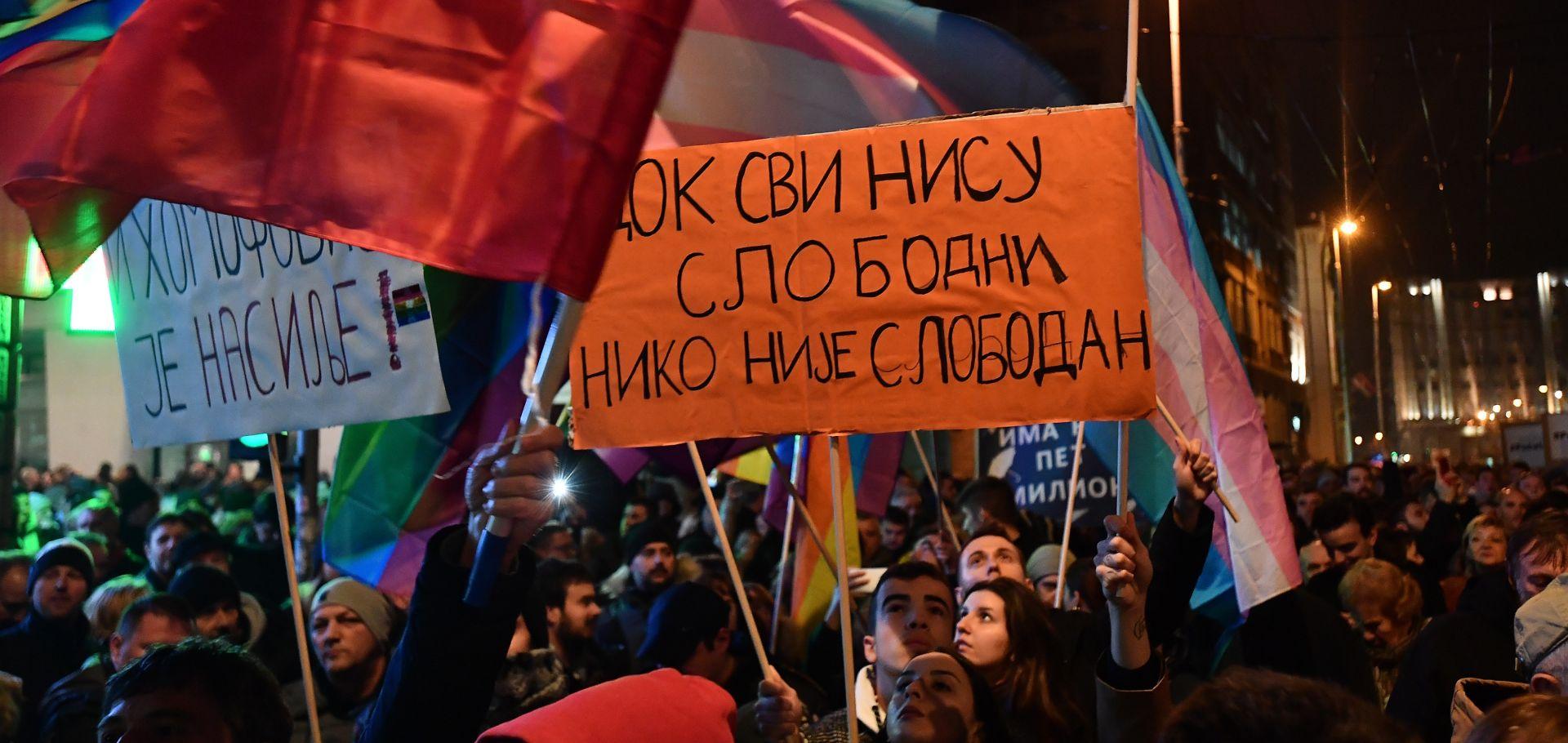 """PROTEST PROTIV VUČIĆA """"Počelo je!"""""""
