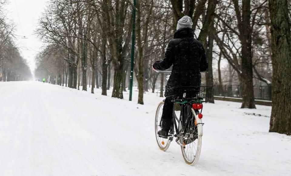 Biciklizam je popularan i u zimskim mjesecima