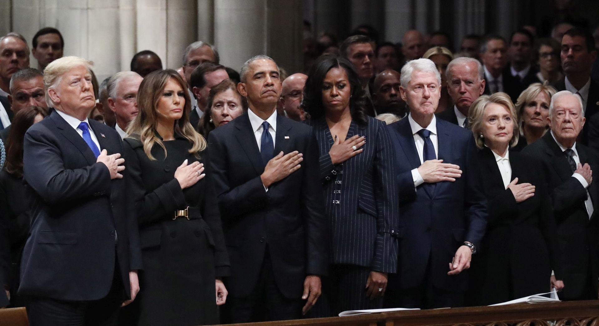 Ujedinjena Amerika ispratila predsjednika Busha starijeg
