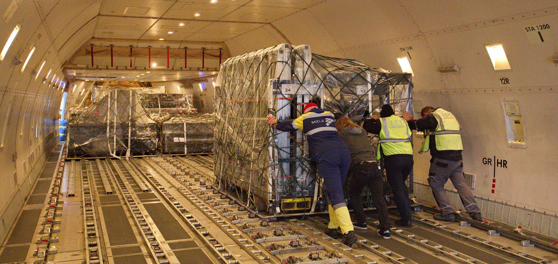 CIRQUE DU SOLEIL Najveća Cargo operacija u ZL Franjo Tuđman