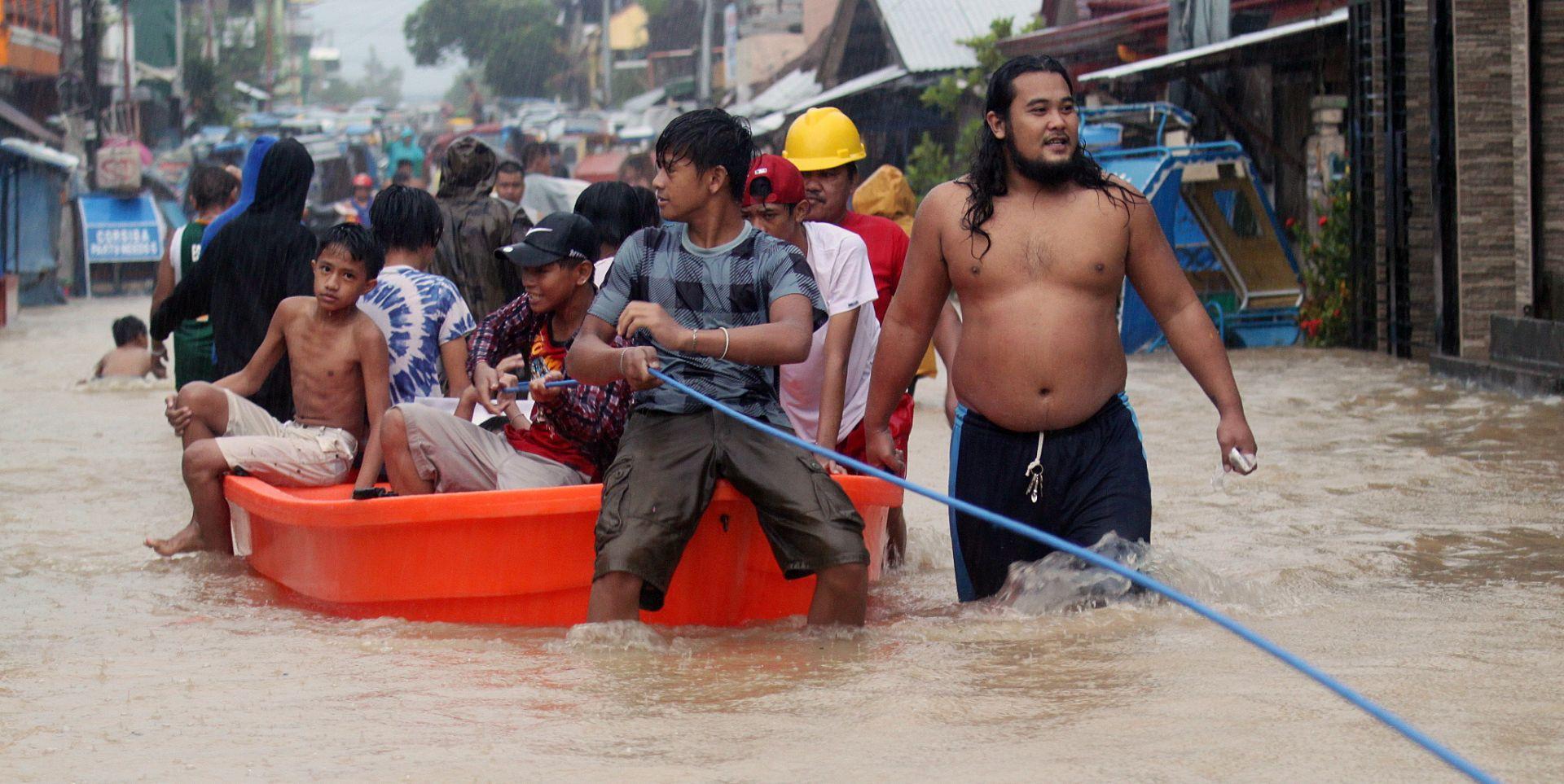 U olujnom nevremenu na Filipinima 68 mrtvih