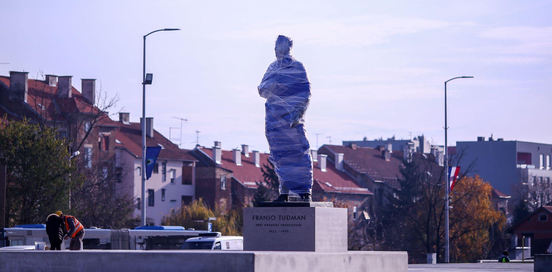 UZ BOLESNIKA BANDIĆA Otvaranje spomenika Tuđmanu