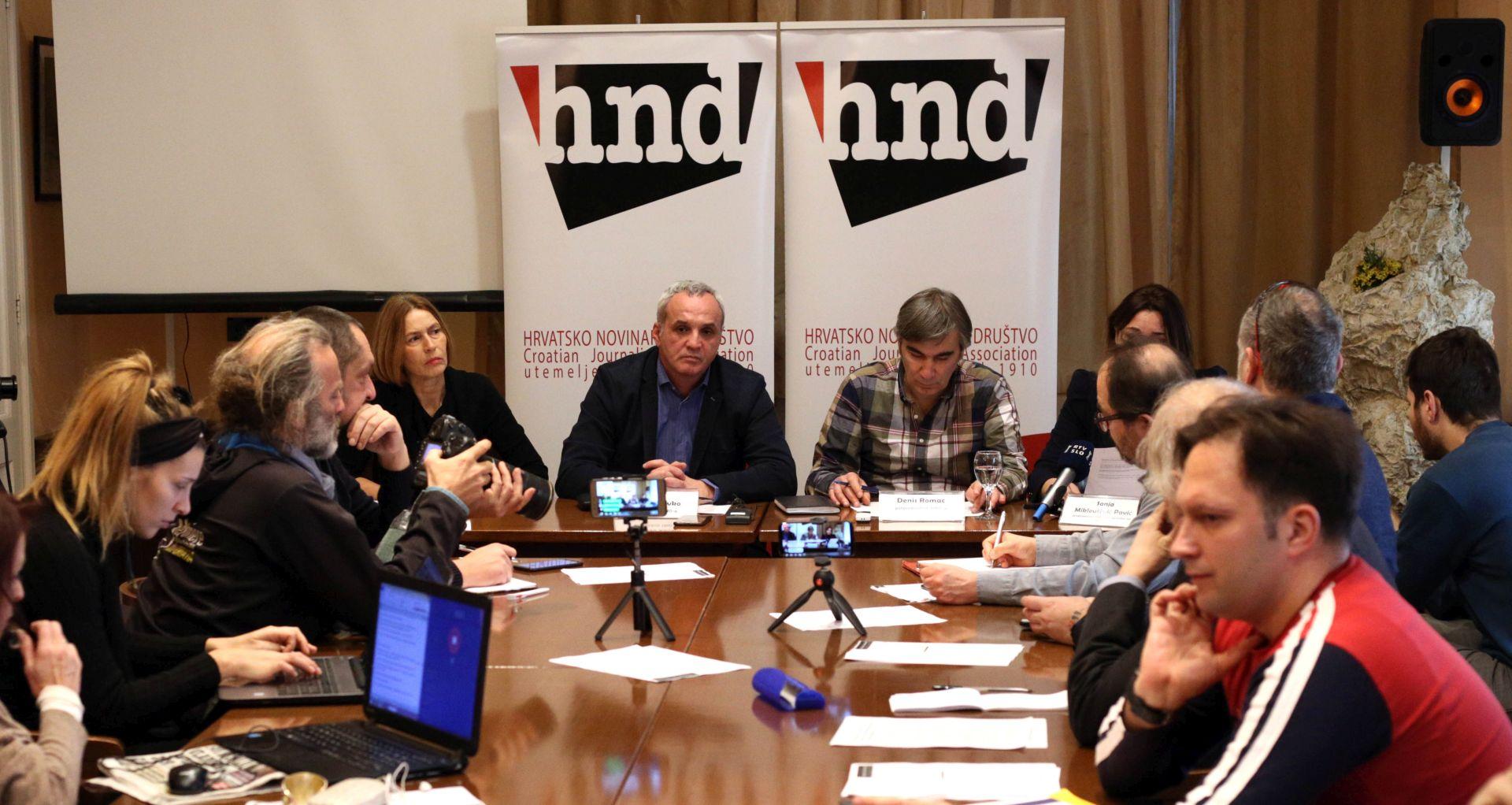 MEDIJI Otkazi na HRT-u, tužbe i presuda protiv HND-a