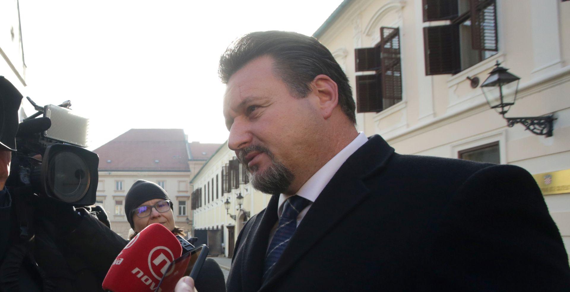 """KUŠČEVIĆ """"Nije se razgovaralo s Bandićem o rekonstrukciji Vlade"""""""