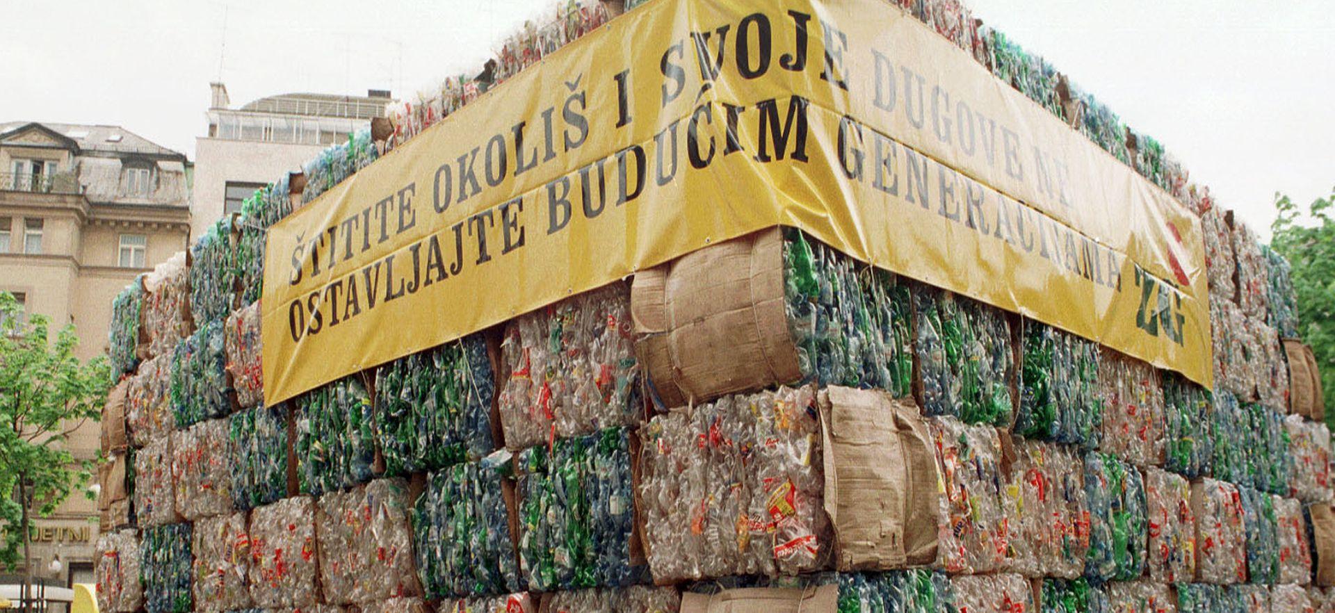 Godišnje 208-760 kg smeća po glavi stanovnika