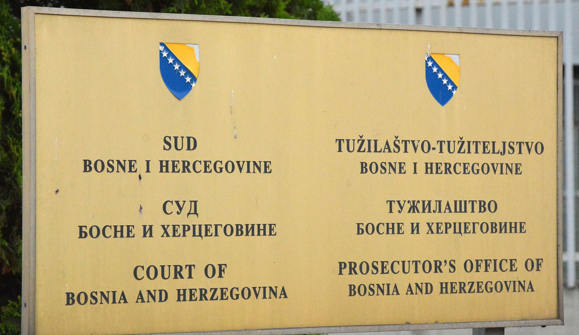 BIH Optužnica protiv hrvatskog državljanina