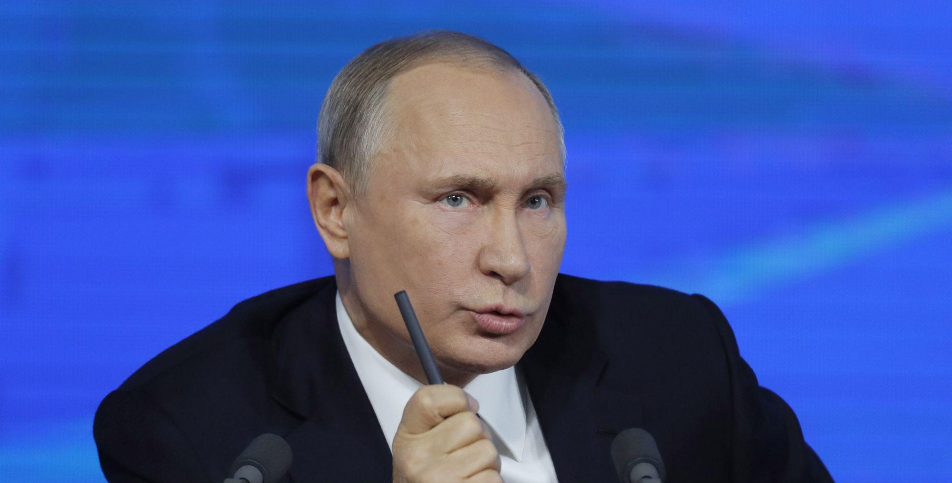 """PUTIN """"Svijet podcjenjuje opasnost nuklearnog rata"""""""