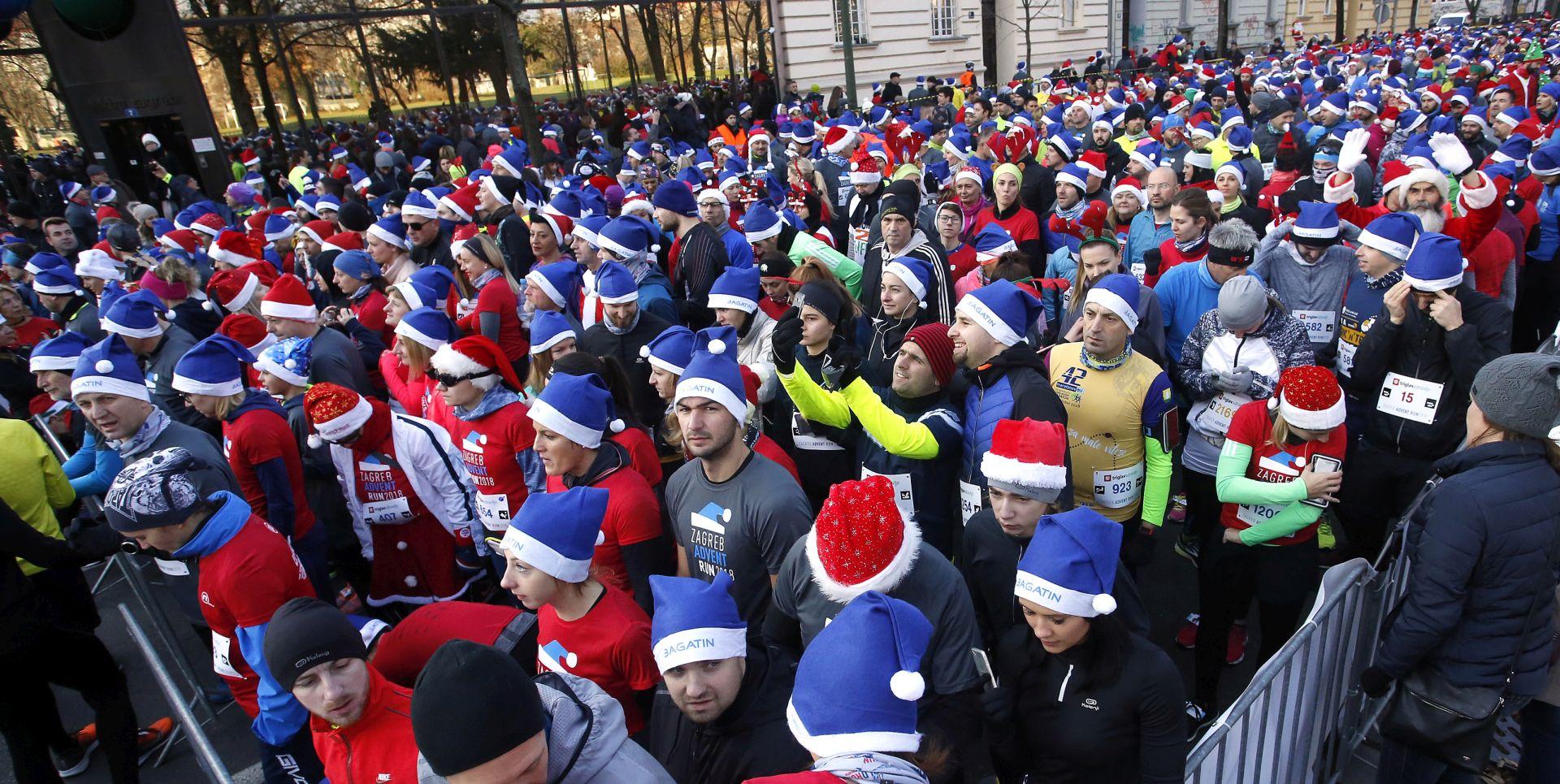 ZAGREB ADVENT RUN Više od 2.500 kostimiranih trkača i hodača