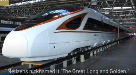 VIDEO: Kineski brzi vlakovi i veseli izazov