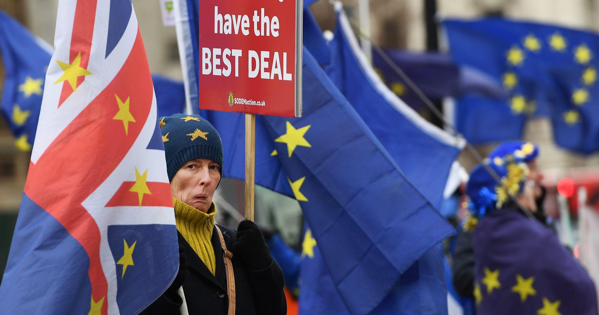 Brexit na britanskim malim ekranima uoči glasanja u parlamentu