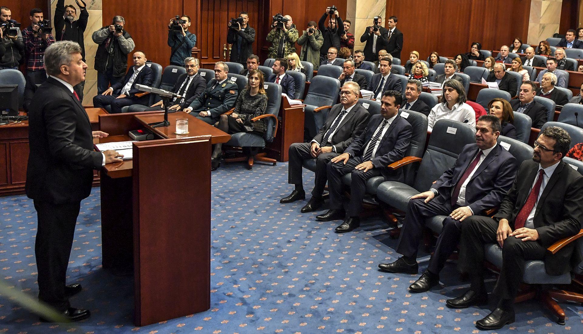 Makedonski parlament počinje konačnu raspravu o promjeni imena