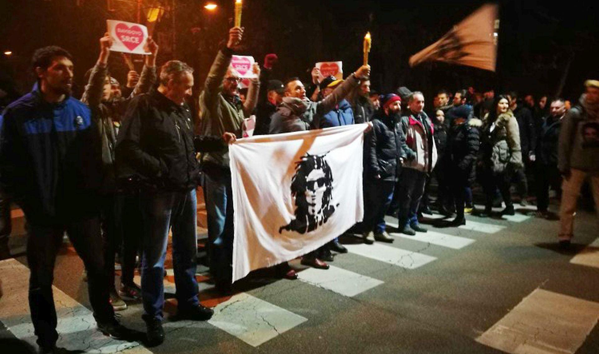 BANJA LUKA Prosvjednici nastavljaju okupljanja