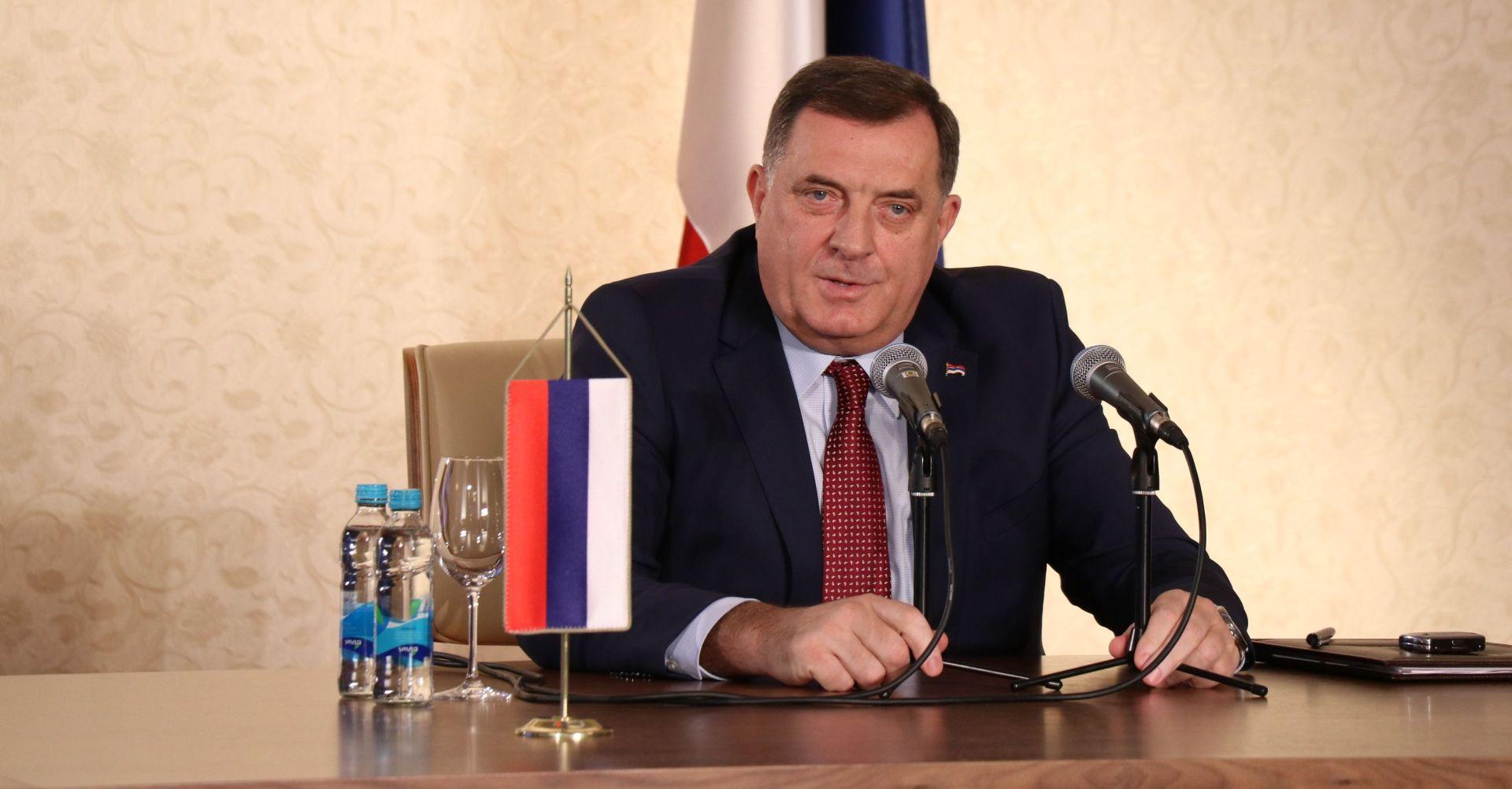 "Dodik BiH nazvao ""eksperimentom"""