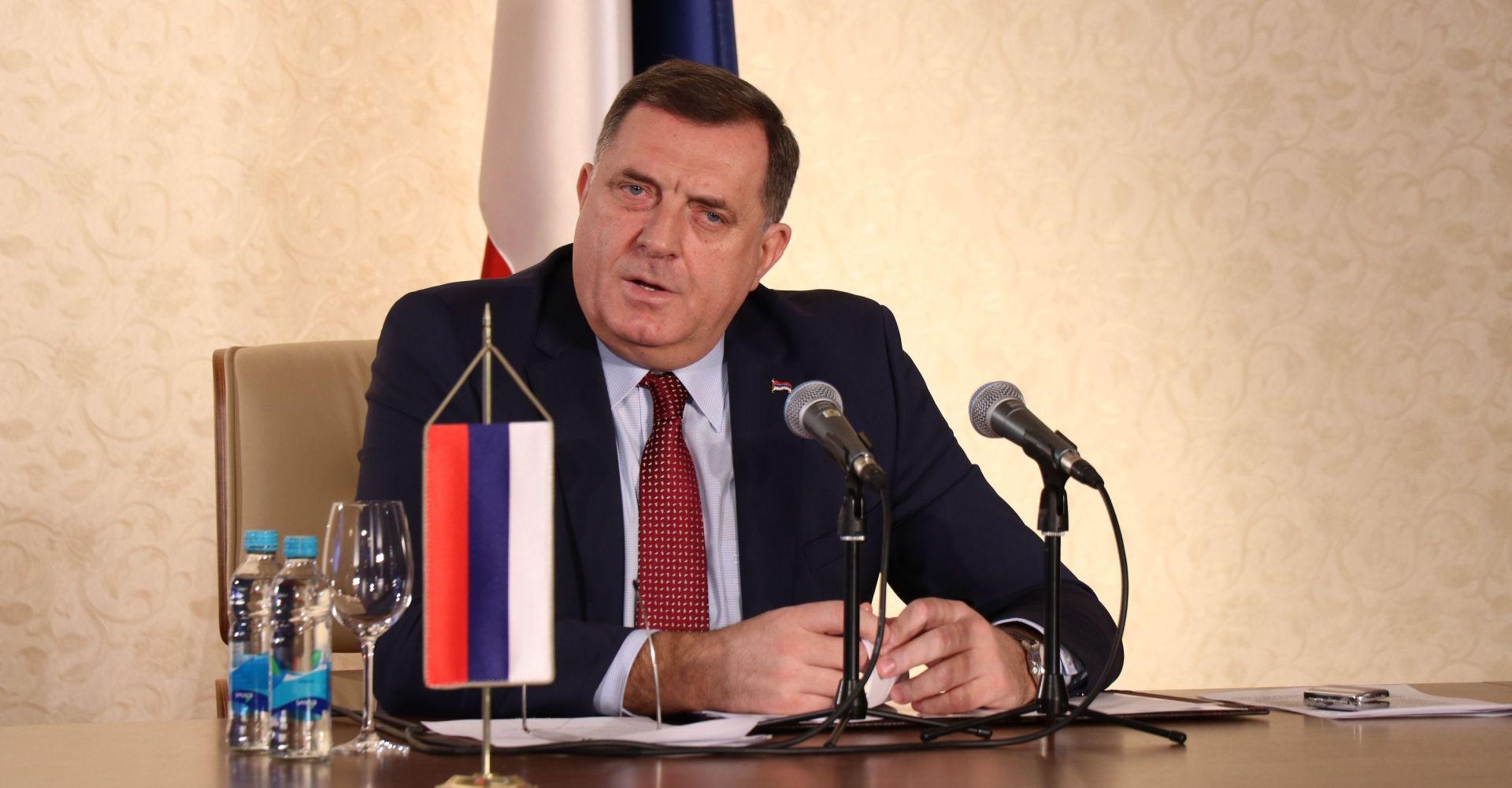 """DODIK """"Džaferović i Komšić ubrzavaju odumiranje BiH"""""""