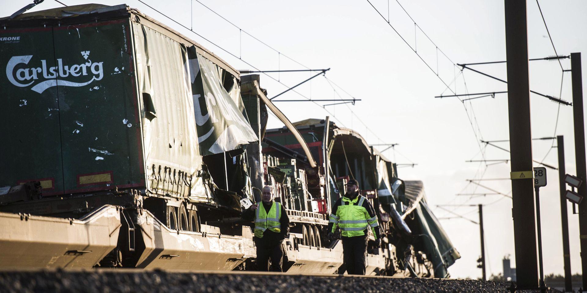 Željeznička nesreća u Danskoj, najmanje 6 mrtvih