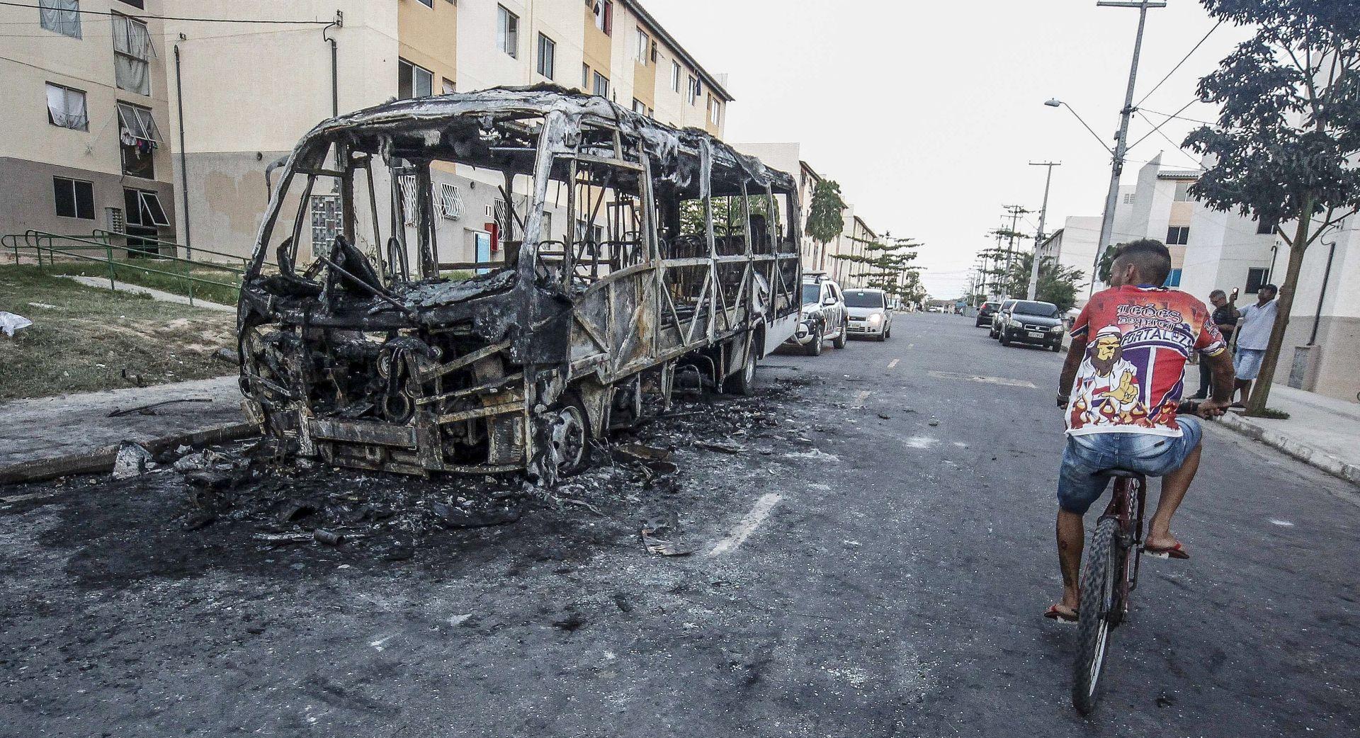 Brazil rasporedio vojsku kako bi zaustavio nasilje u Fortalezi