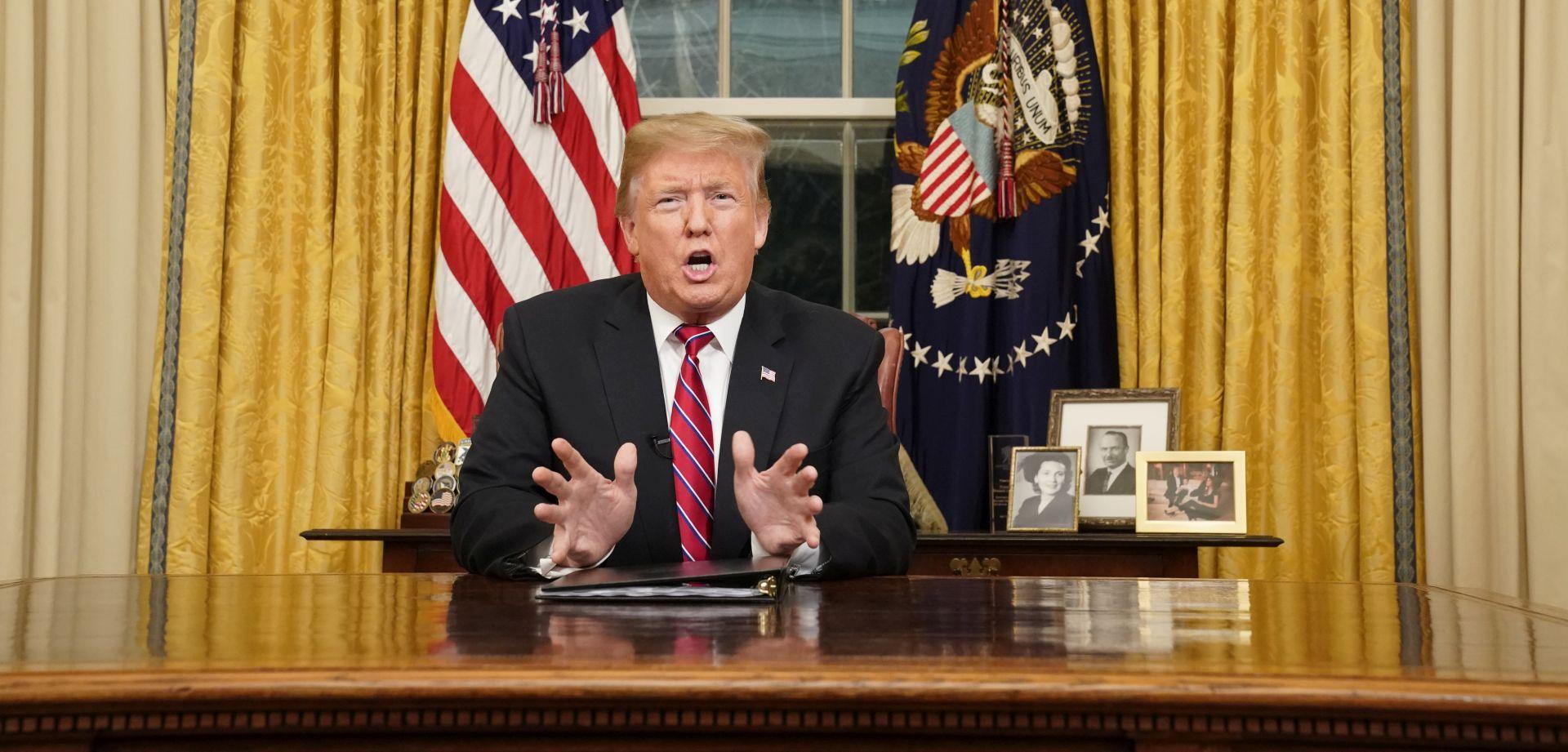 Trump pozvao Kongres da odobri financiranje zida