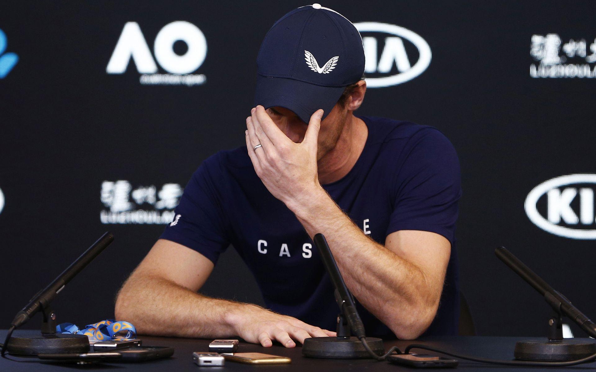 """""""NE MOGU VIŠE"""" Andy Murray najavio kraj karijere"""