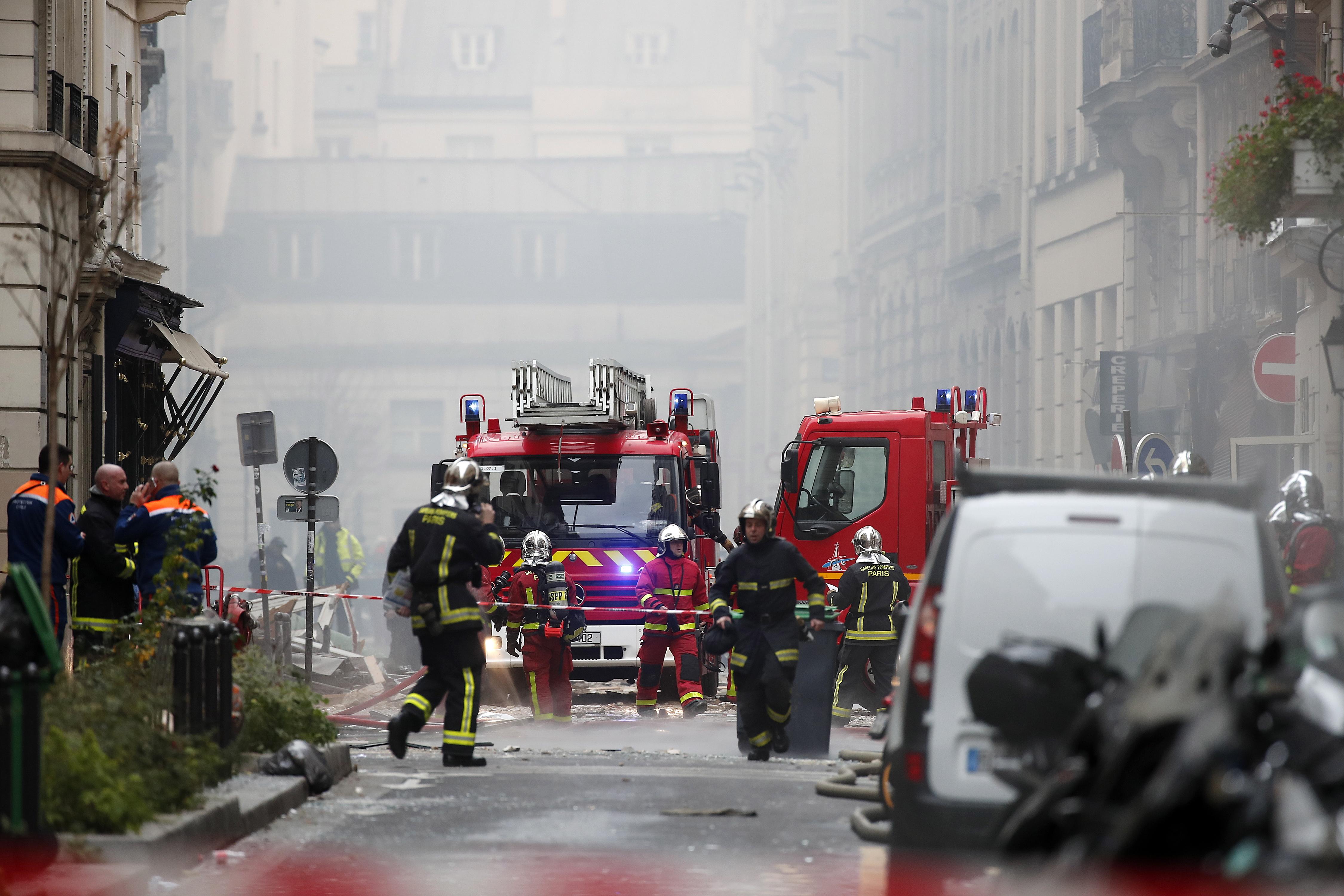 Troje mrtvih u eksploziji u pariškoj pekarnici