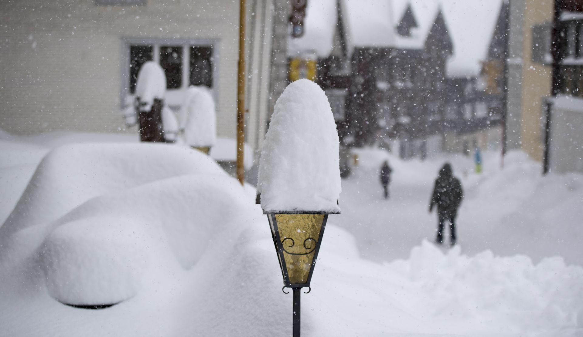 Alpsko područje očekuje još snijega, visoka opasnost od lavina