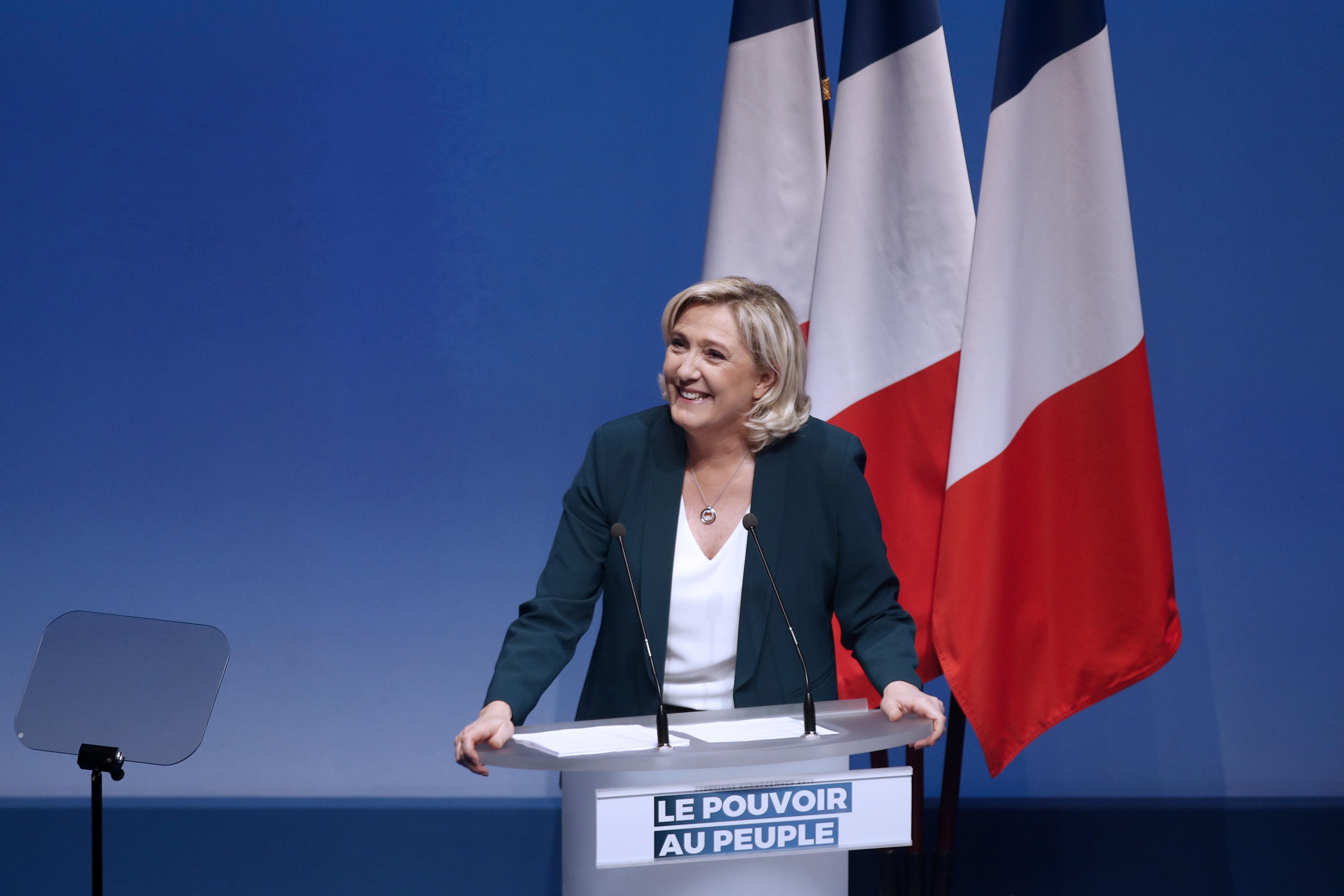 Stranka Marine Le Pen krenula u kampanju za europske izbore
