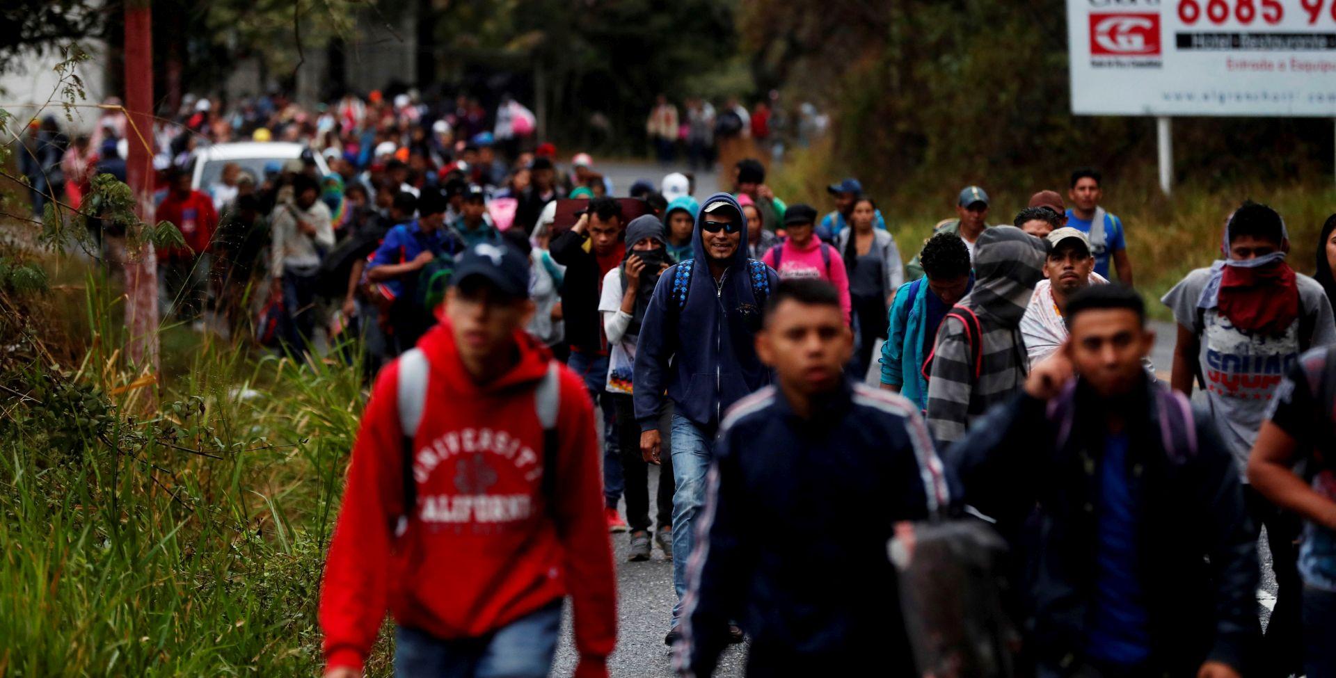 Nova karavana honduraških migranata ušla u Meksiko