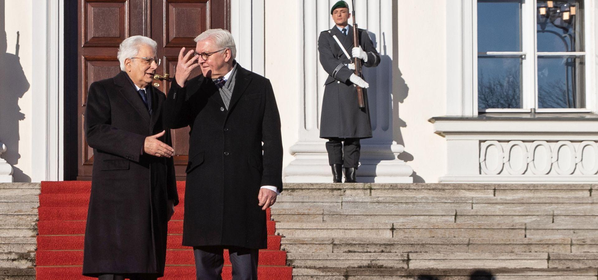 Predsjednici Njemačke i Italije o važnosti ujedinjene Europe