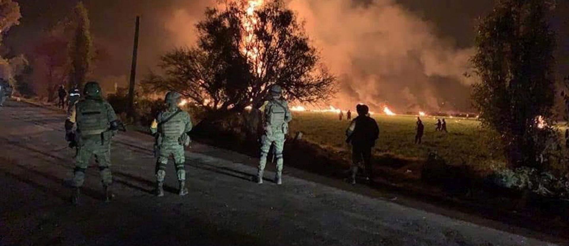Broj poginulih u eksploziji naftovoda u Meksiku porastao na 85