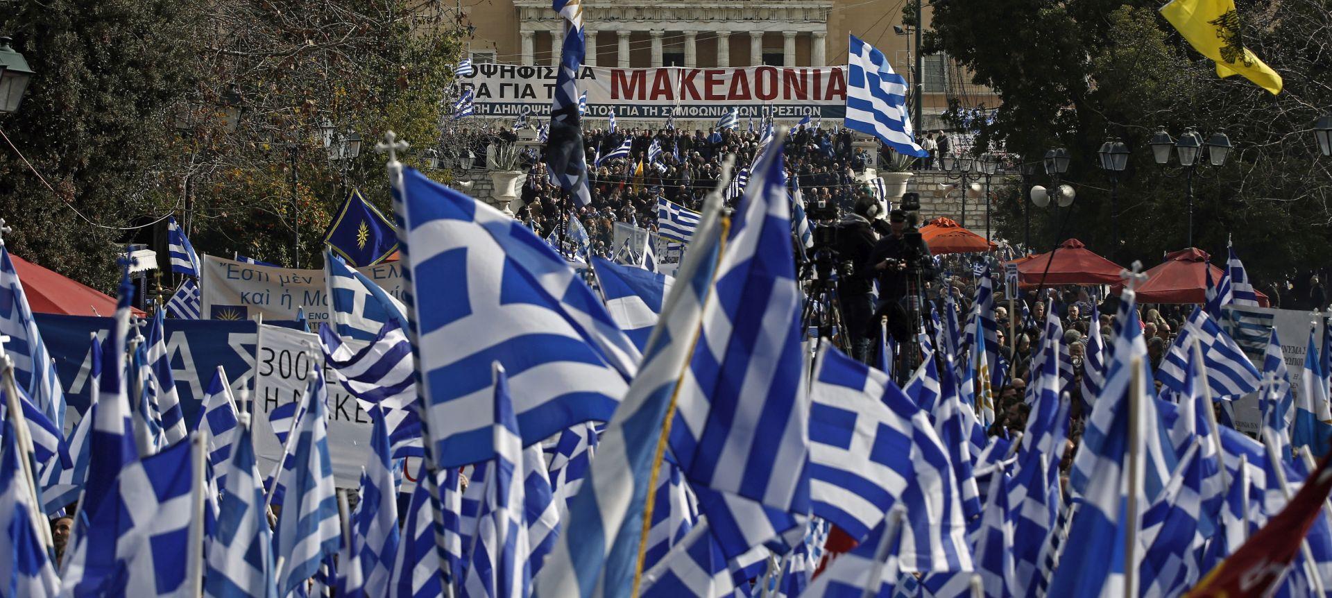 Grčki parlament započeo raspravu o imenu Sjeverna Makedonija