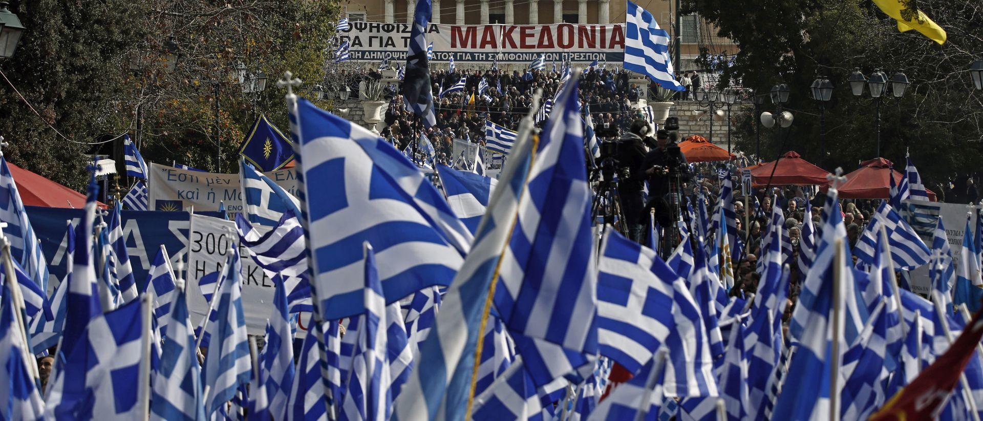Grčki parlament u četvrtak navečer glasuje o imenu Makedonije