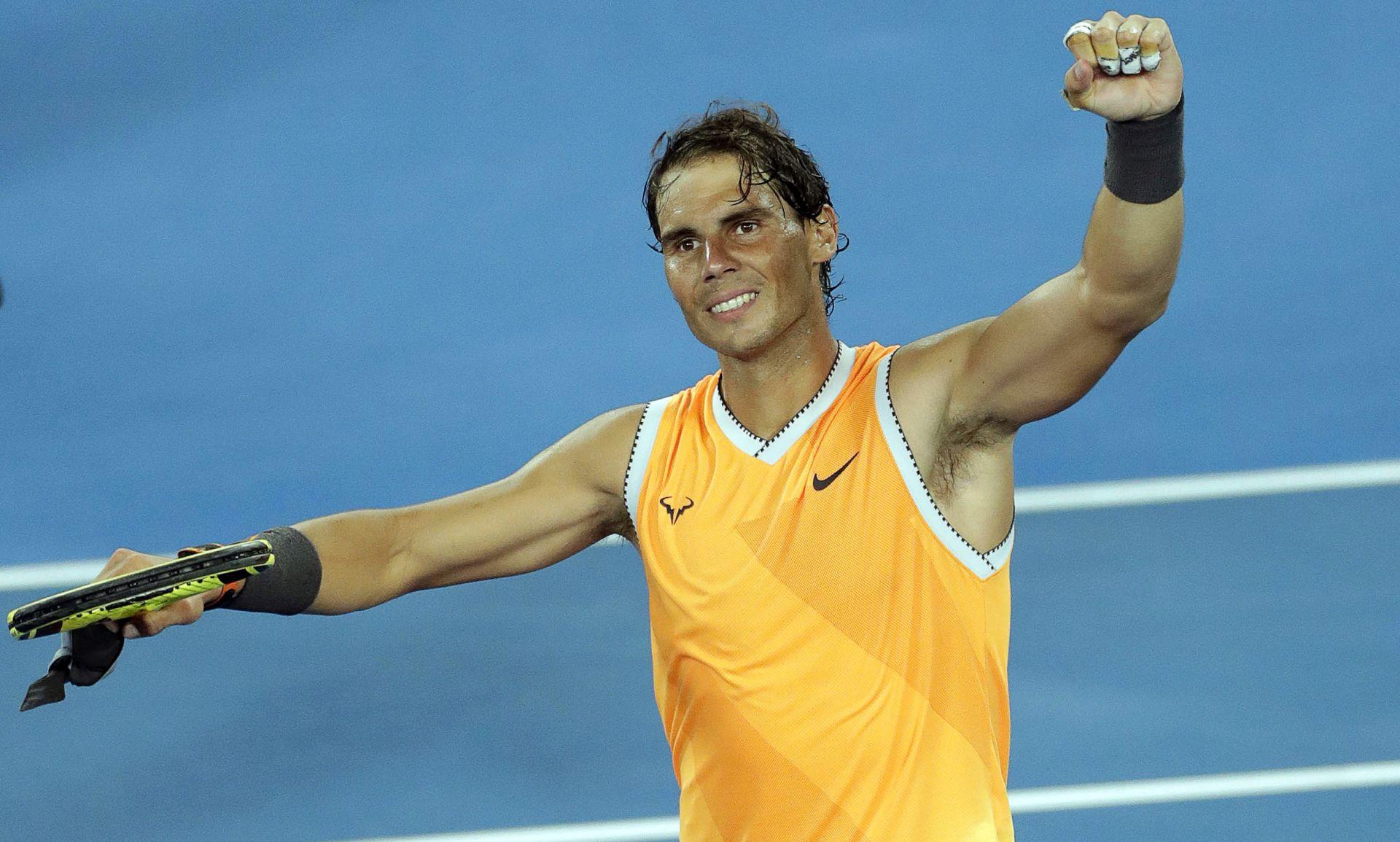 AUSTRALIAN OPEN Kvitova i Nadal u polufinalu